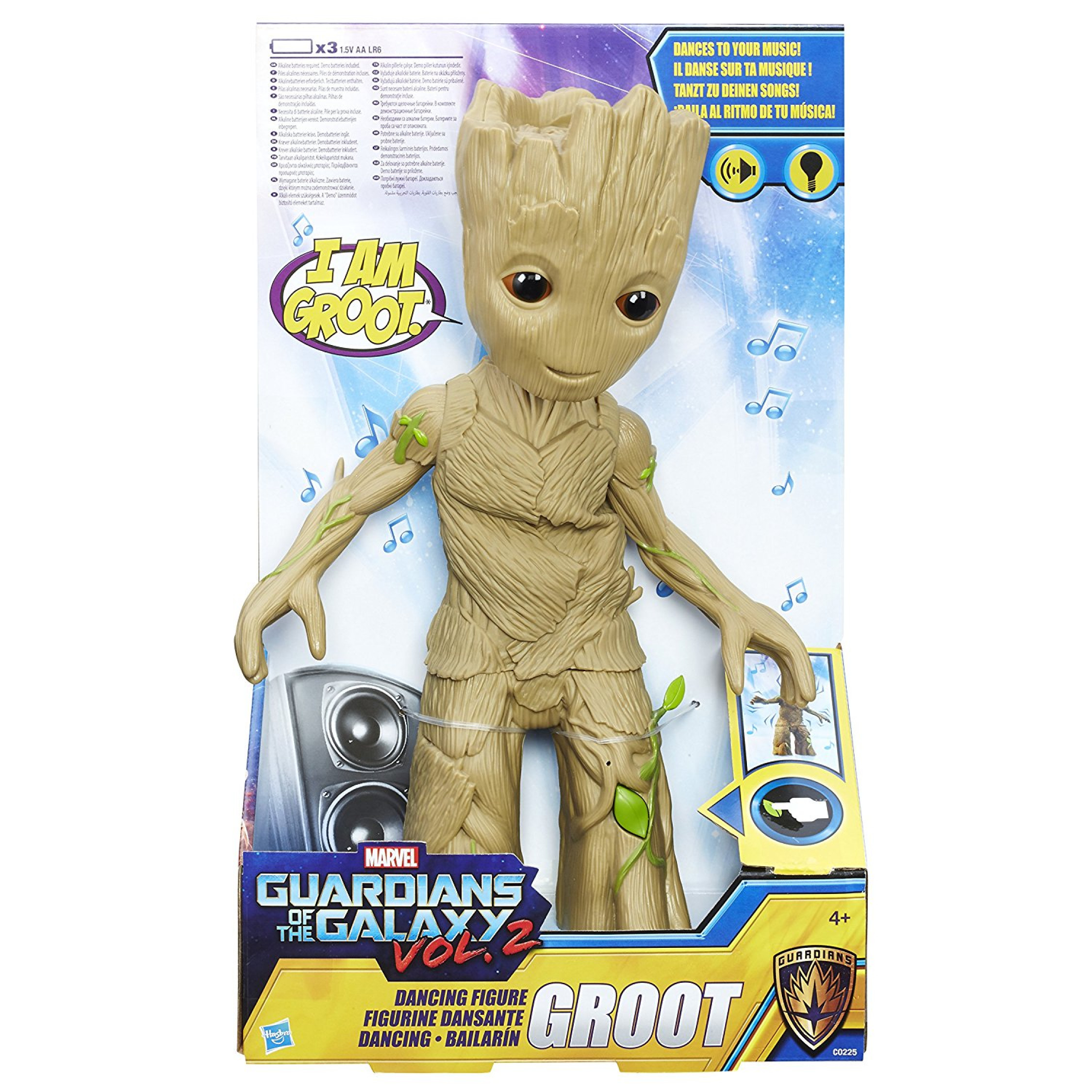 Guardians Of The Galaxy Marvel Dancing Groot Figure Ebay