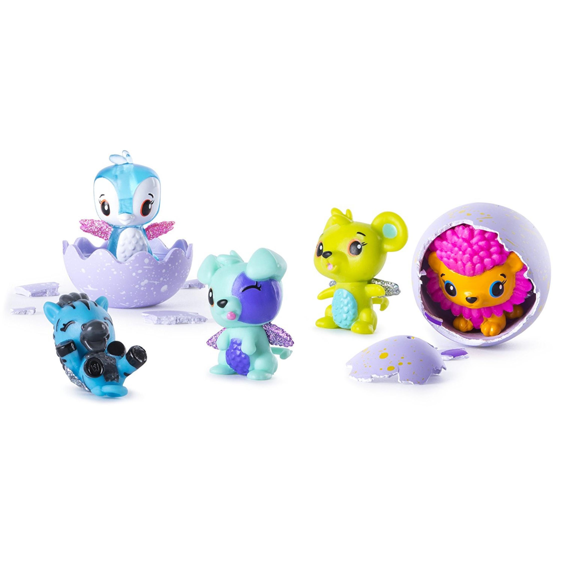 Hatchimals CollEGGtibles 4 Pack Bonus Spin Master Collect