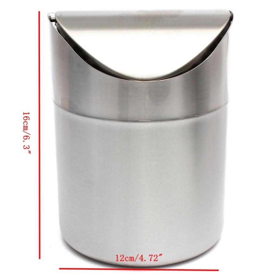 1-5L-Stainless-Steel-Swing-Lid-Trash-Can-Home-Bathoom-Recycling-Rubbish-Bin