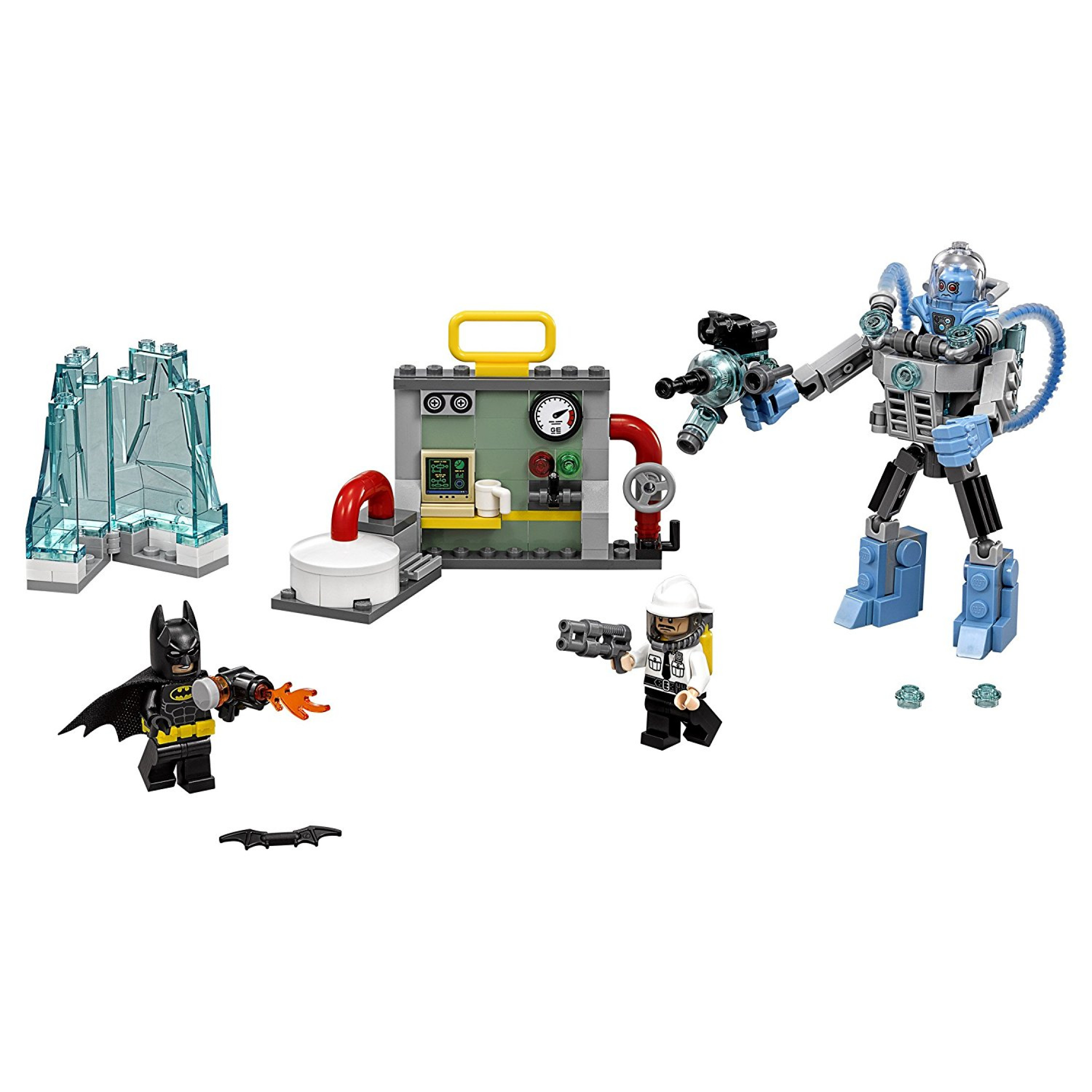 DC ics Lego Batman Building Set The Mr Freeze Toy Boy Kids