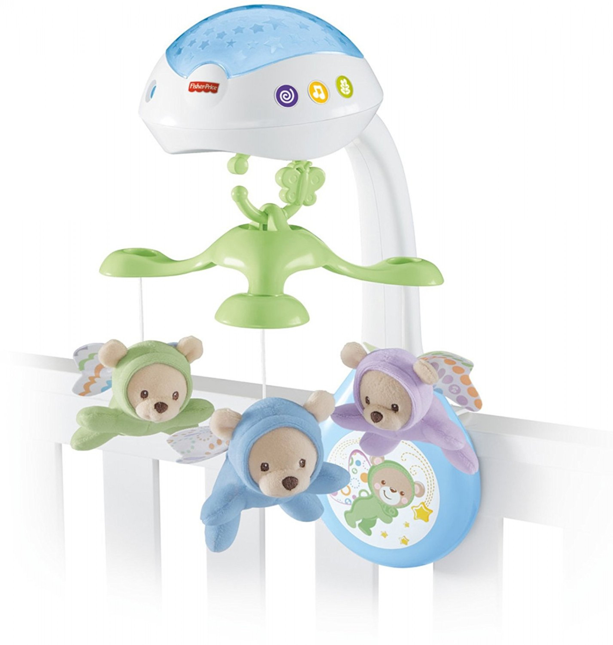 Mobile Butterfly Dreams Projection Fisher Price Musical Cot Baby