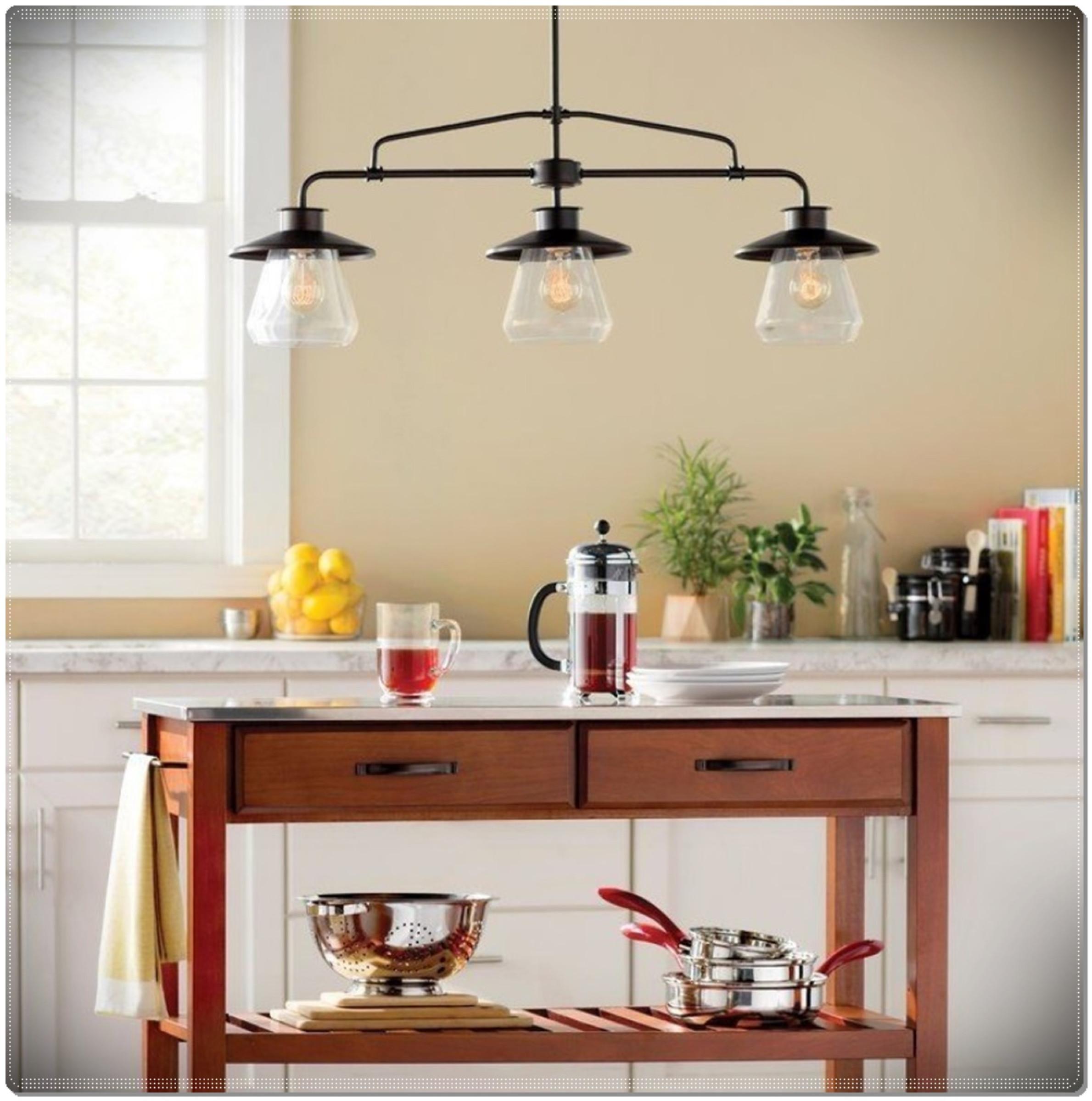 Vintage kitchen 3 light island lamp pendant lighting dining room vintage kitchen 3 light island lamp pendant lighting dzzzfo
