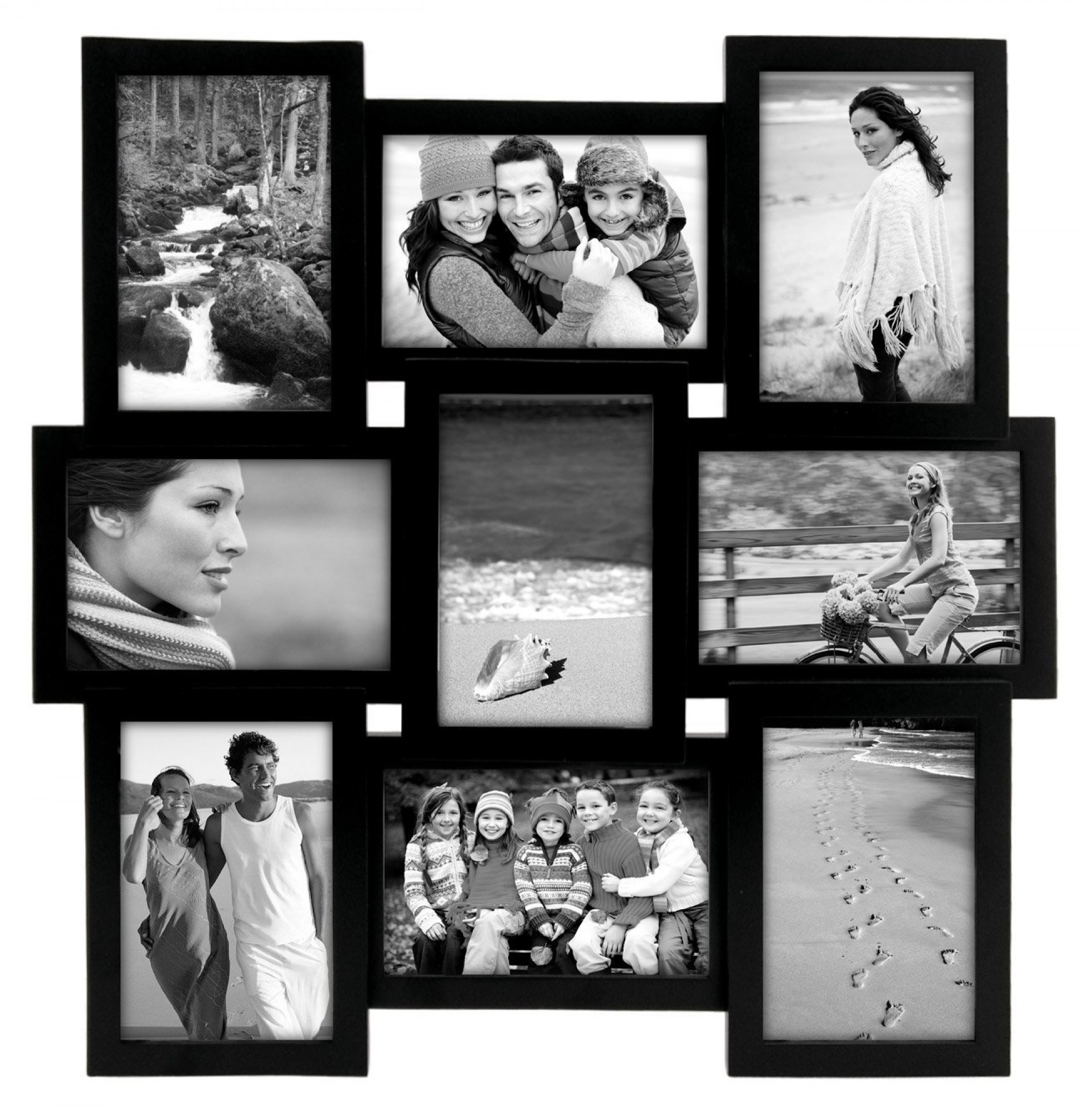 Multiple Picture Frame Best Puzzle Collage Family Photo