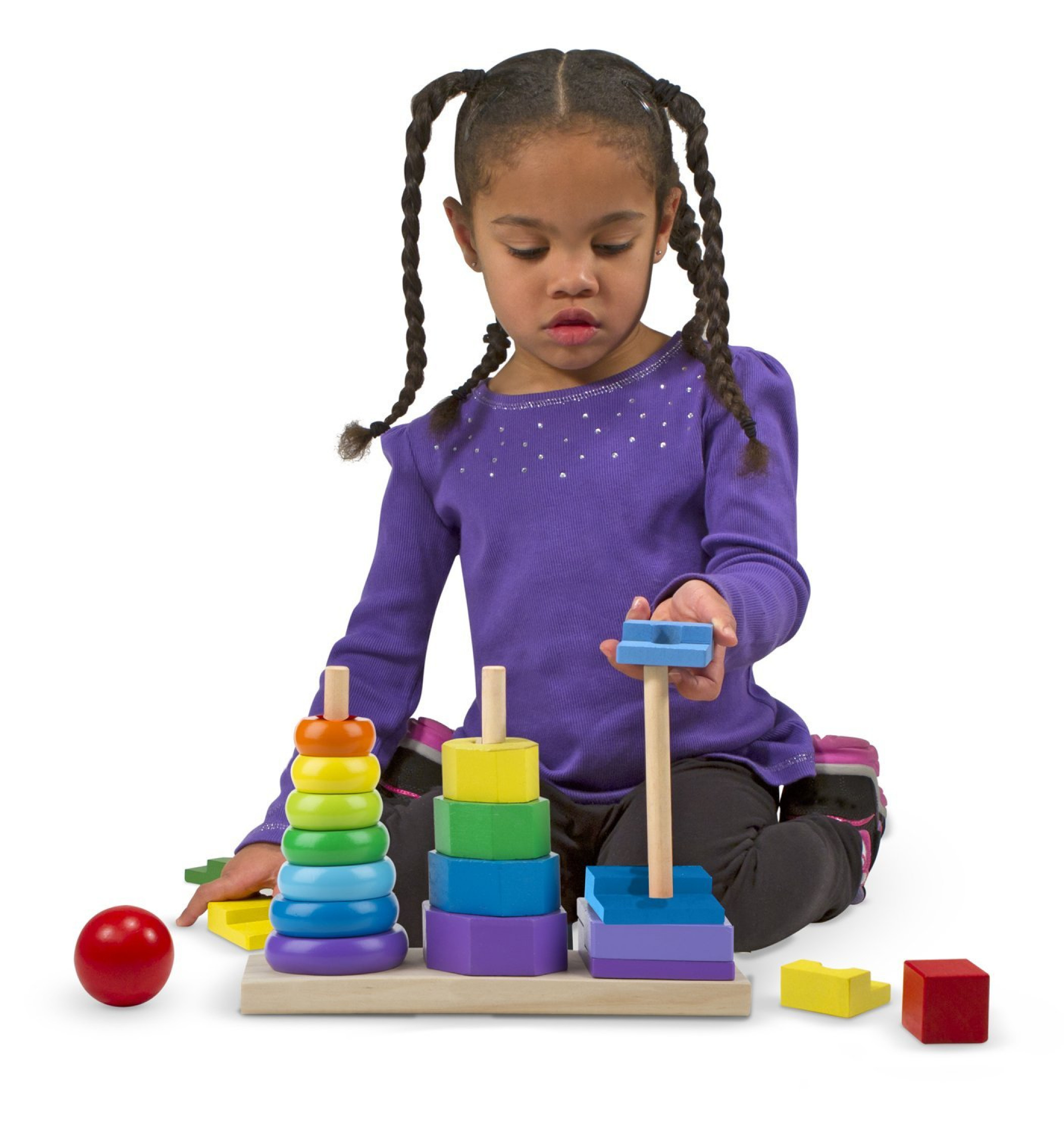 Toys For Special Education : Sensory educational stacker toy set special needs autism