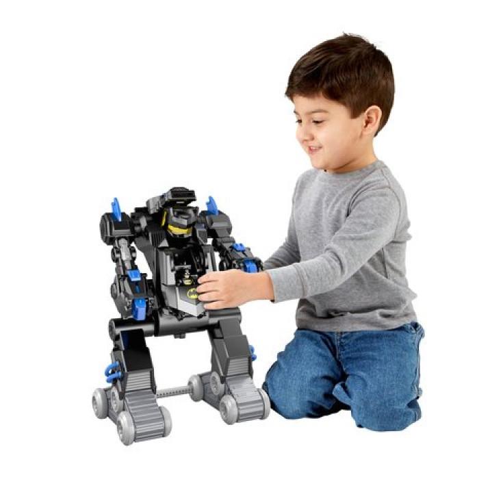 Batman batmobil fernbedienung verwandeln batbot roboter imaginext spielzeug fr kinder
