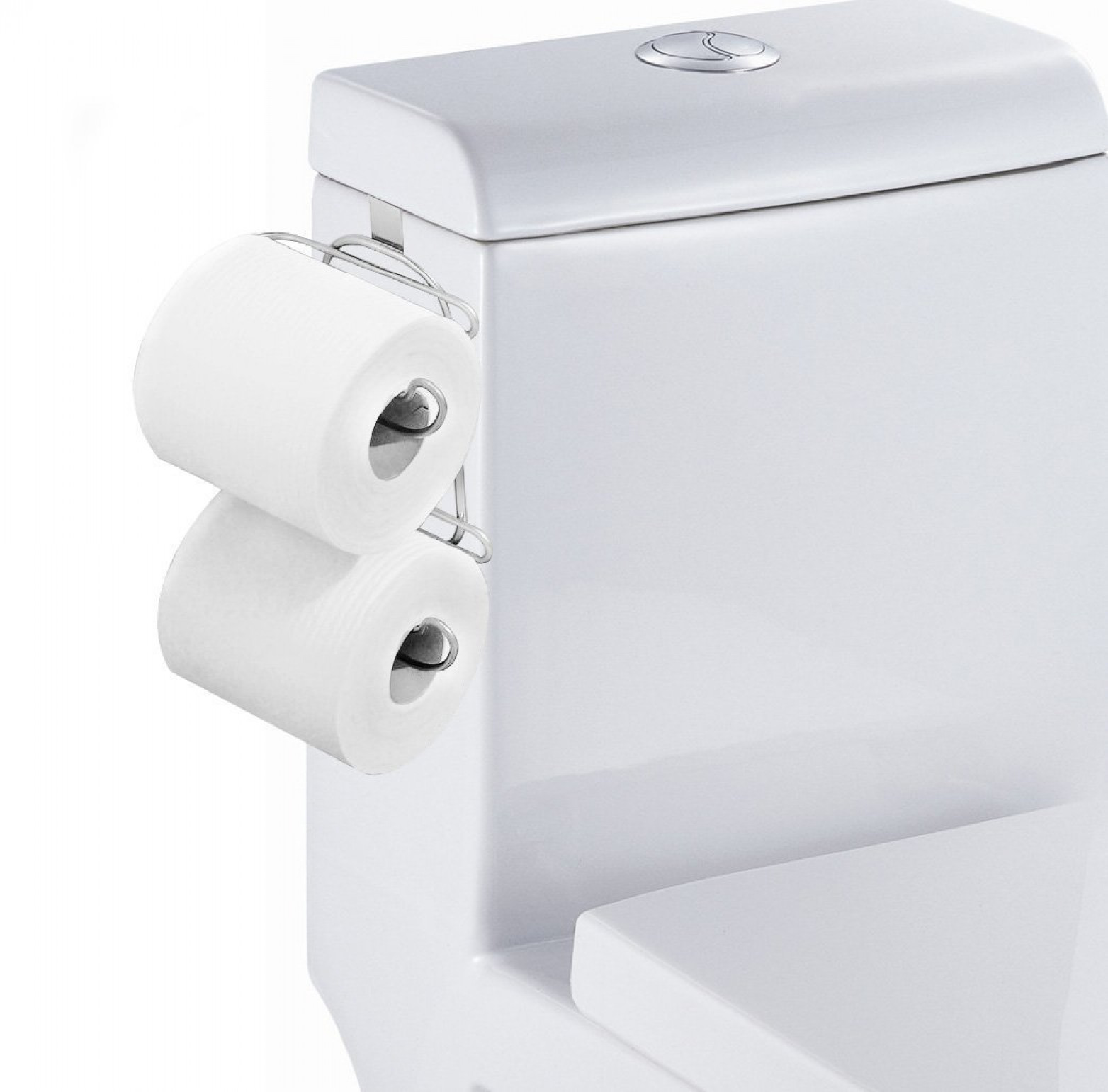 Image Is Loading Toilet Paper Holder 2 Roll Storage Over The