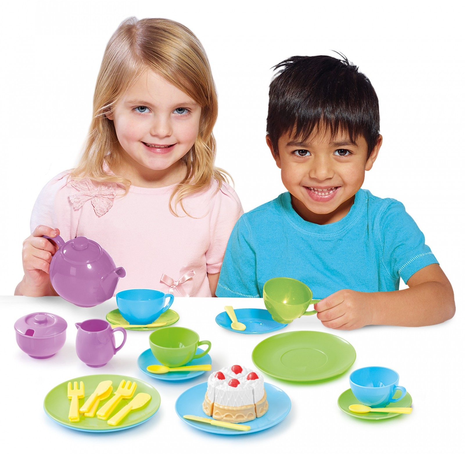 Children Kids Toy Breakfast Tea Set Kitchen Play Food Skills Pretend ...