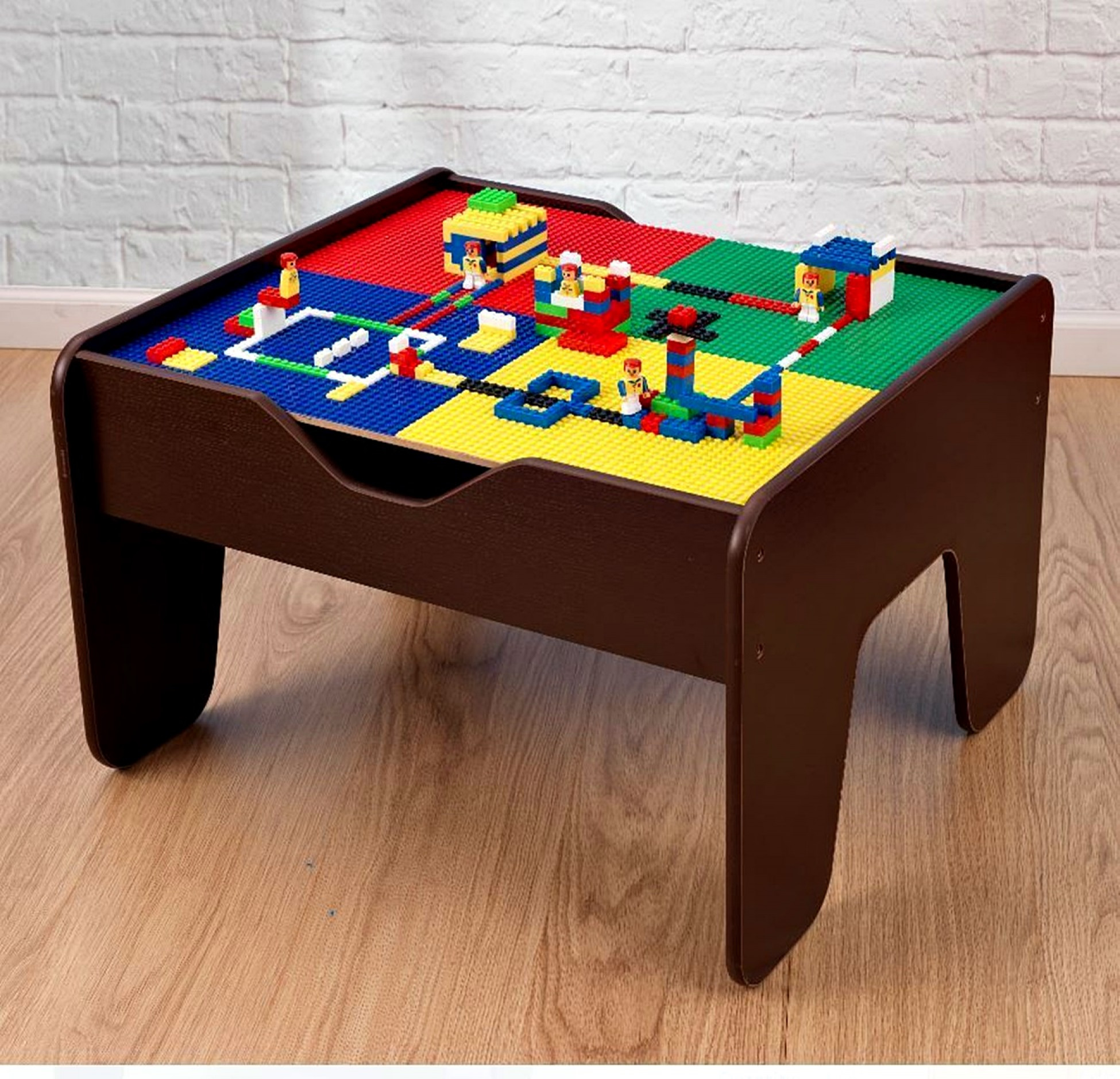 Image Is Loading Lego Table 2 In 1 Activity Set Kids