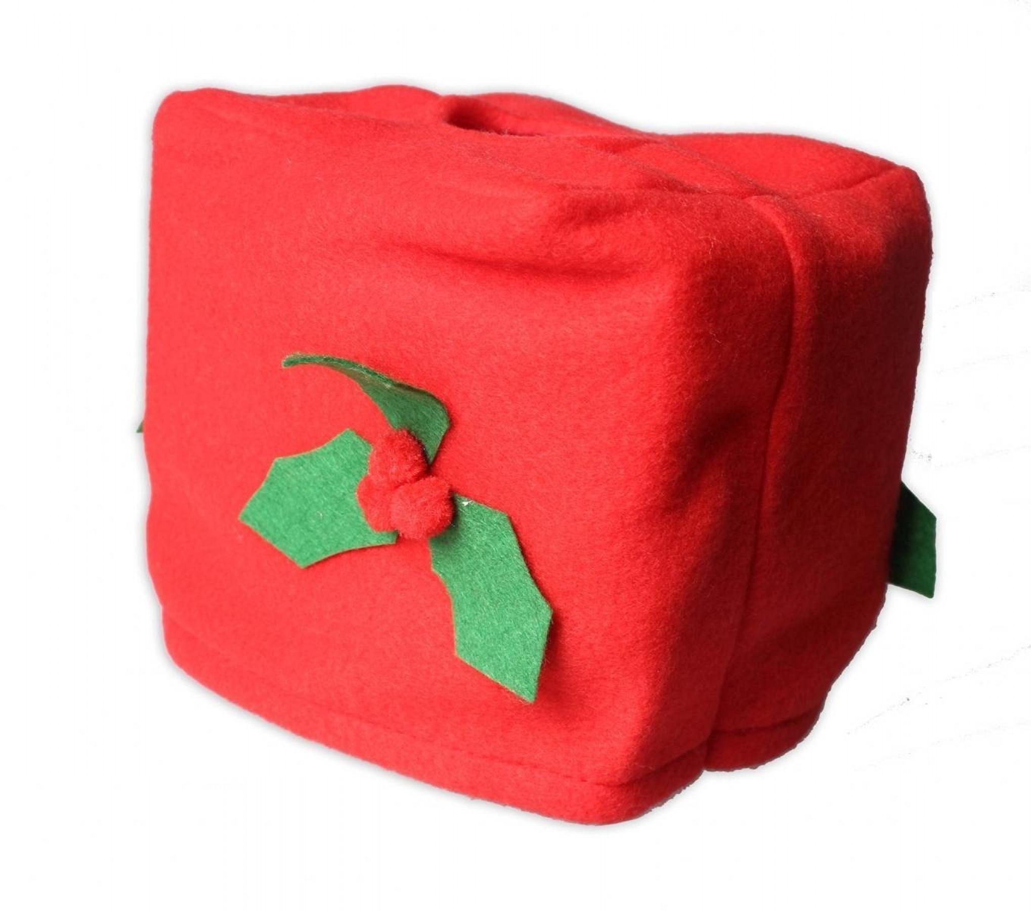 Funny Santa Toilet Seat Cover w Toilet Paper Box Cover