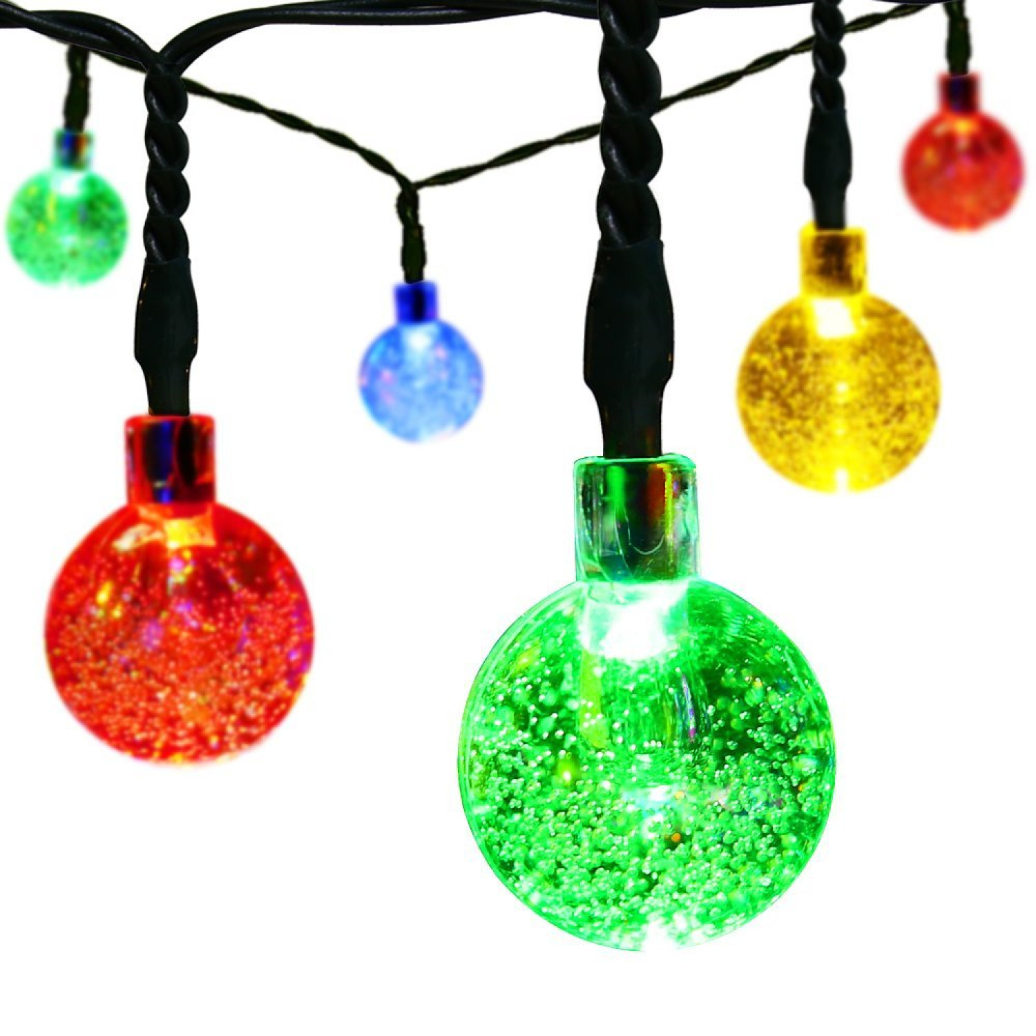 Christmas decorative led string lights balls w modes