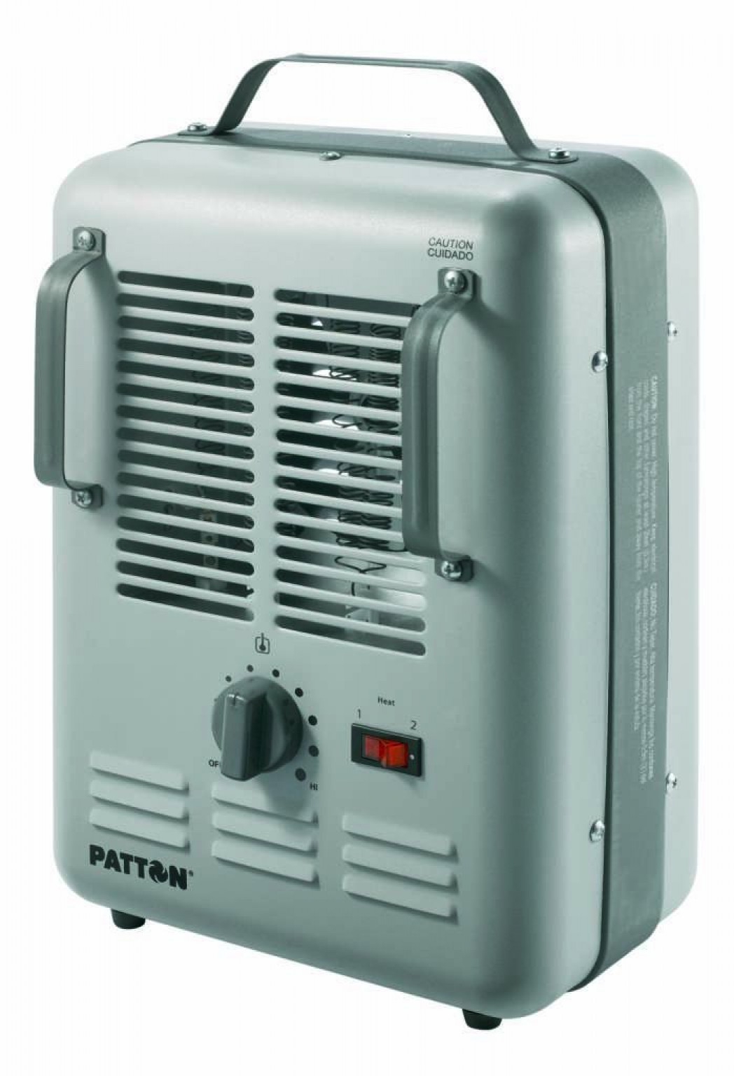Patton Space Heater w Quiet Fan Office House Utility Bedroom Air ...