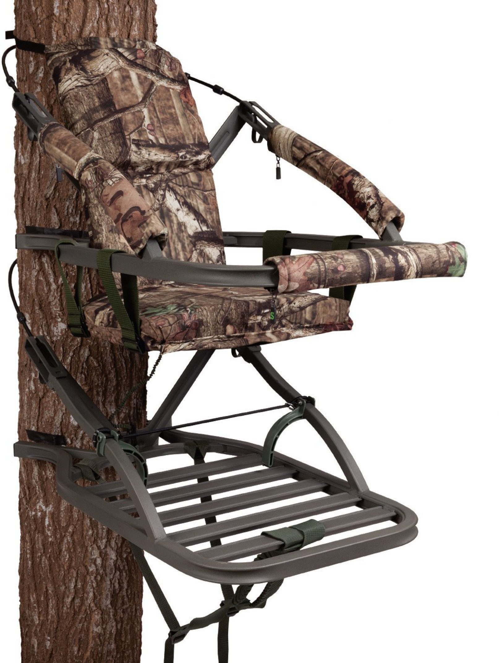 Fusion Climbing Tree Stand | Big Game Treestands - YouTube