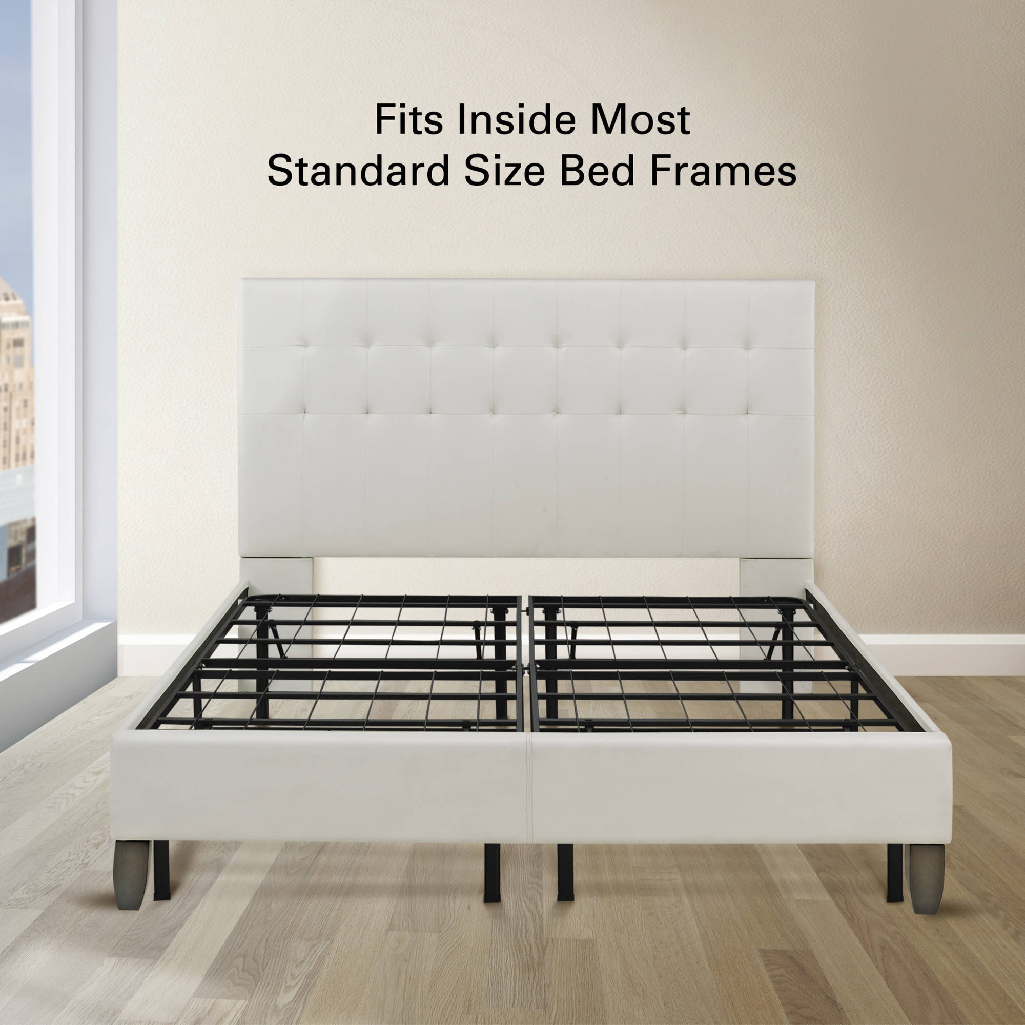 Classic Metal Platform Bed Frame Cal King Dream