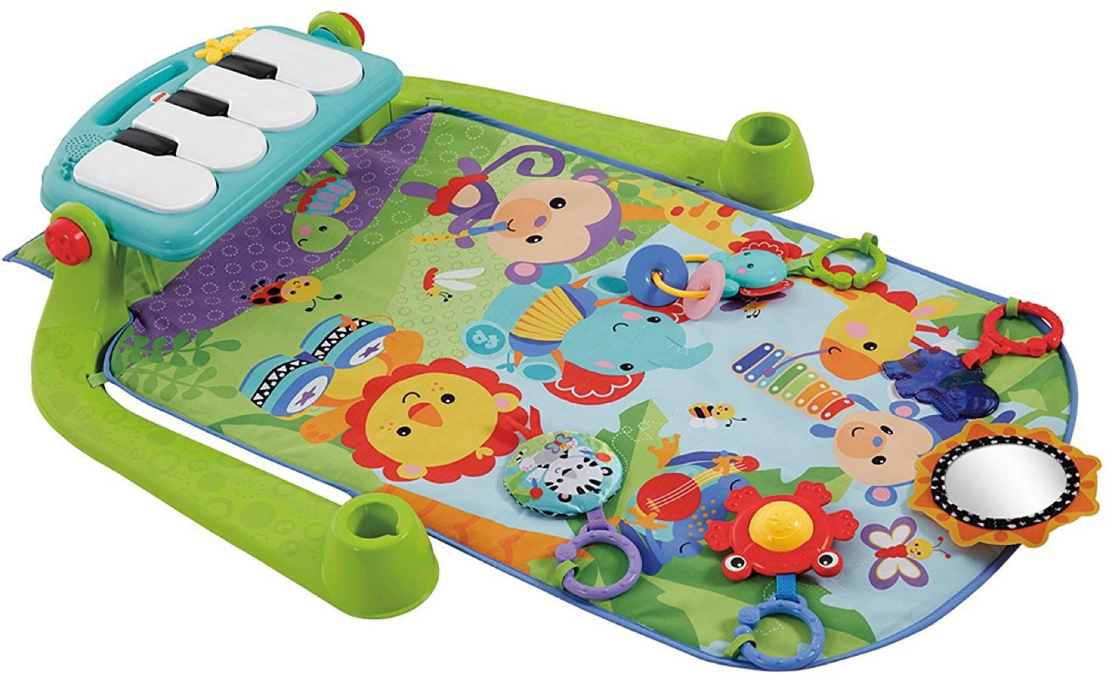 Fisher Price Kick And Play Piano Gym Baby Activity Playmat