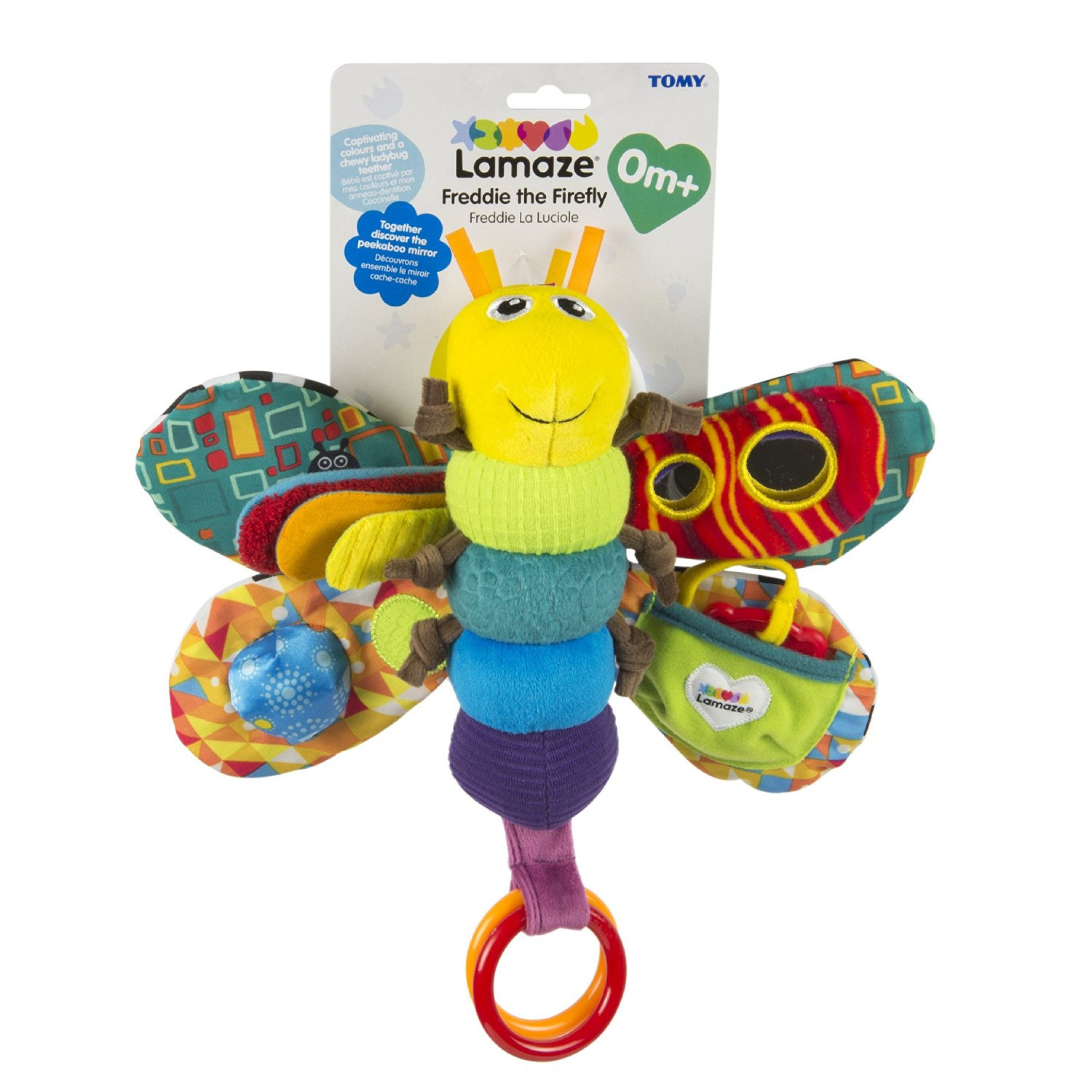 Lamaze Freddie Firefly Toy Gift Soft Busy Wings Clinking
