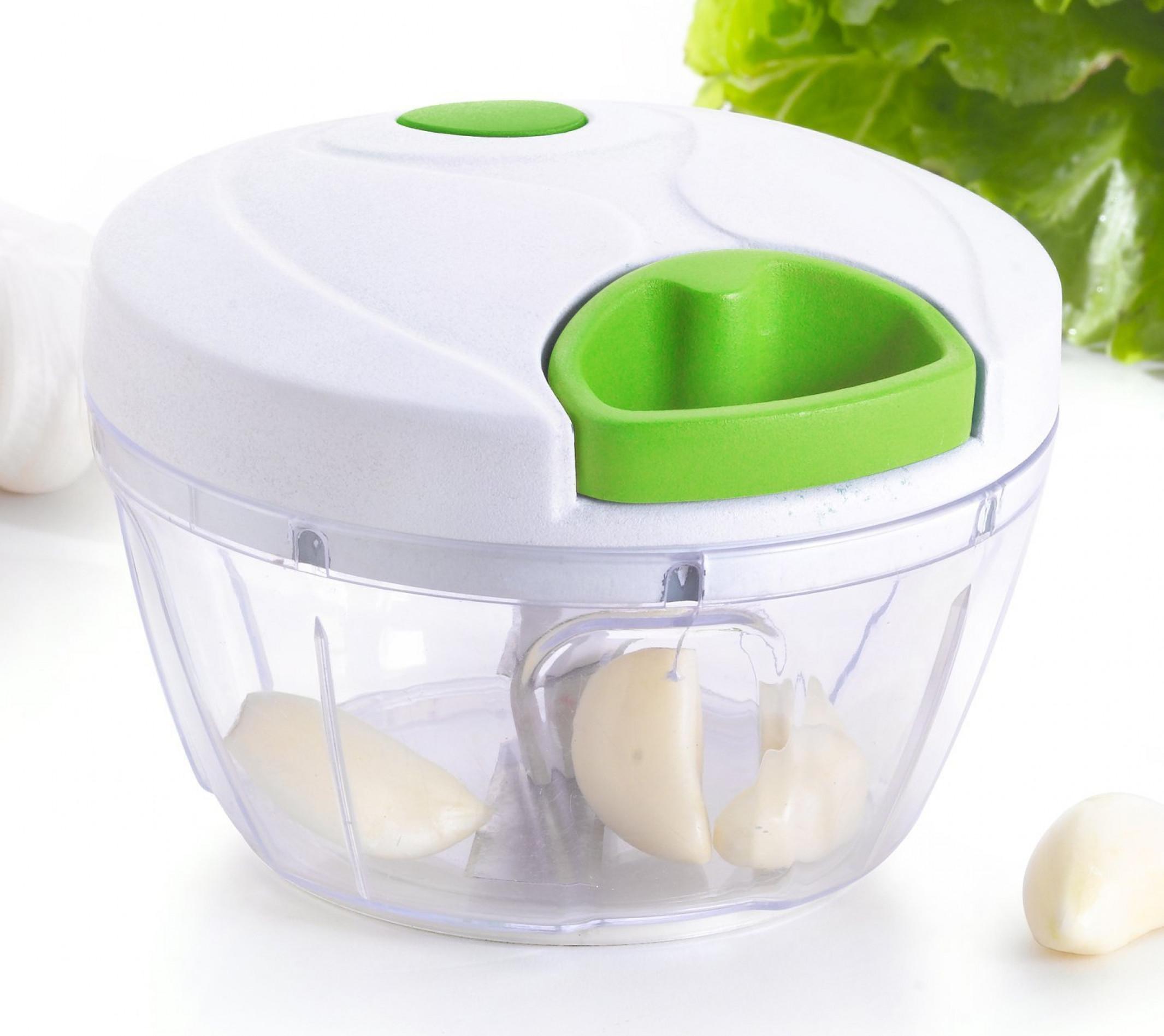 mini pull vegetable chopper food processor fruit garlic herb slicer blender ebay. Black Bedroom Furniture Sets. Home Design Ideas