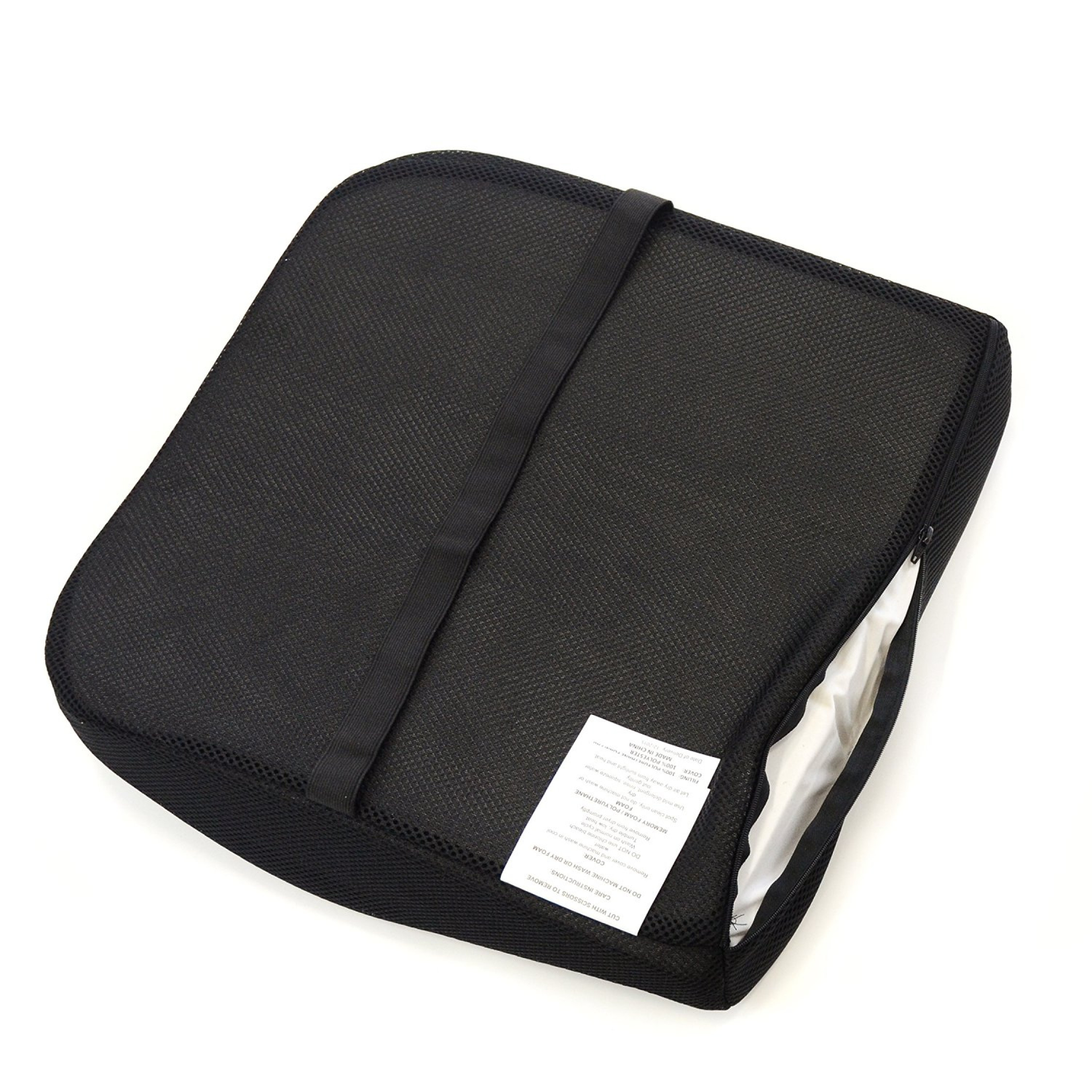 memory foam seat cushion for lower back support & seat wedge