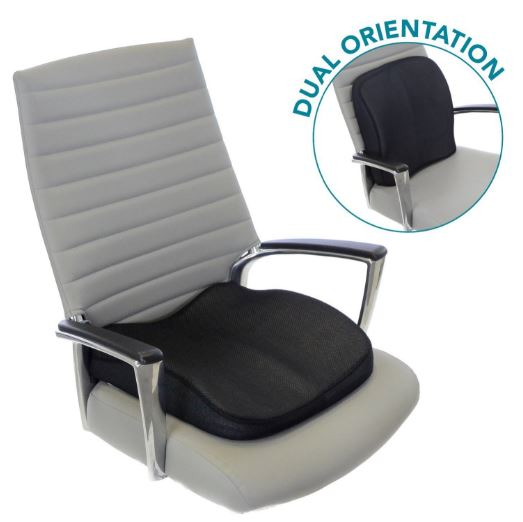 Memory Foam Seat Cushion For Lower Back Support Seat Wedge Office Chair