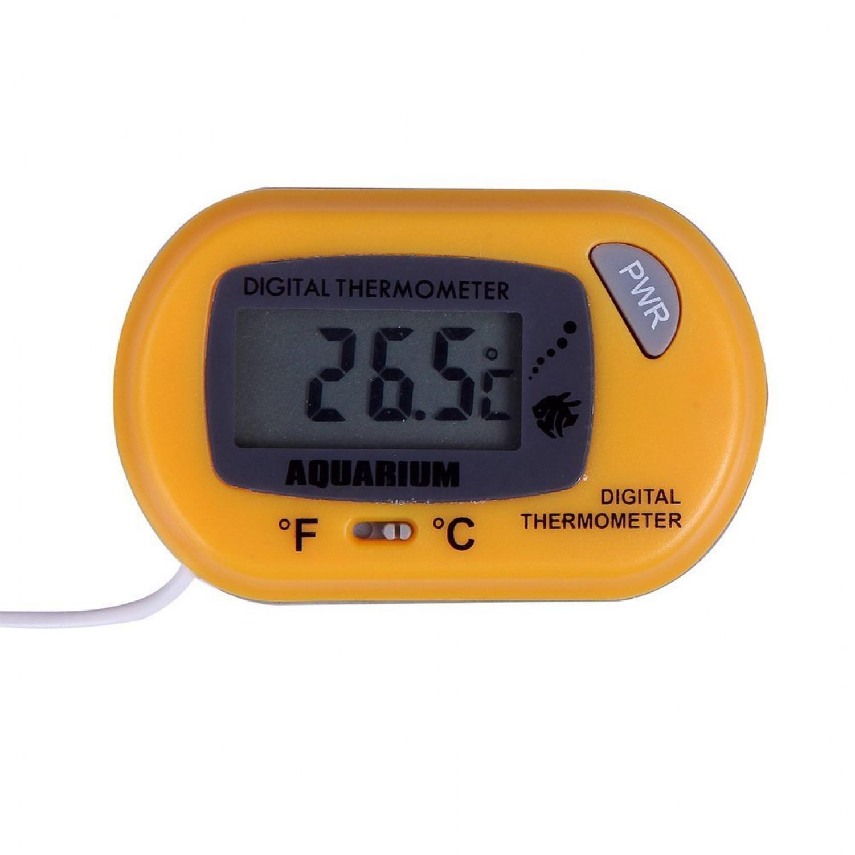 Fish tank measurements - Digital Lcd Aquarium Thermometer Compact Fish Tank Water