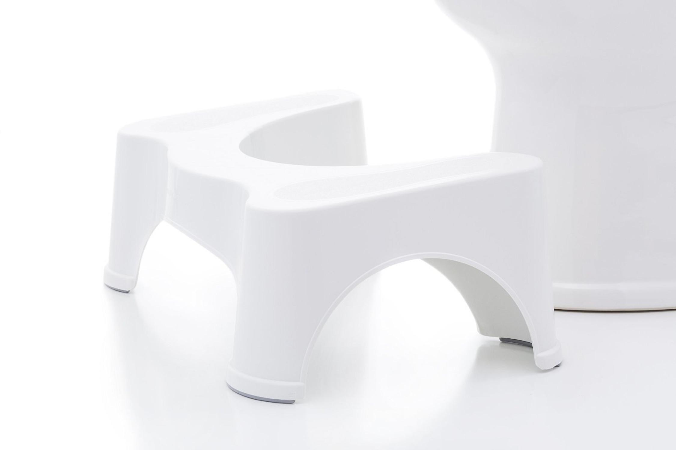 Squatty Potty Ecco Toilet Stool Bathroom Accessory Set