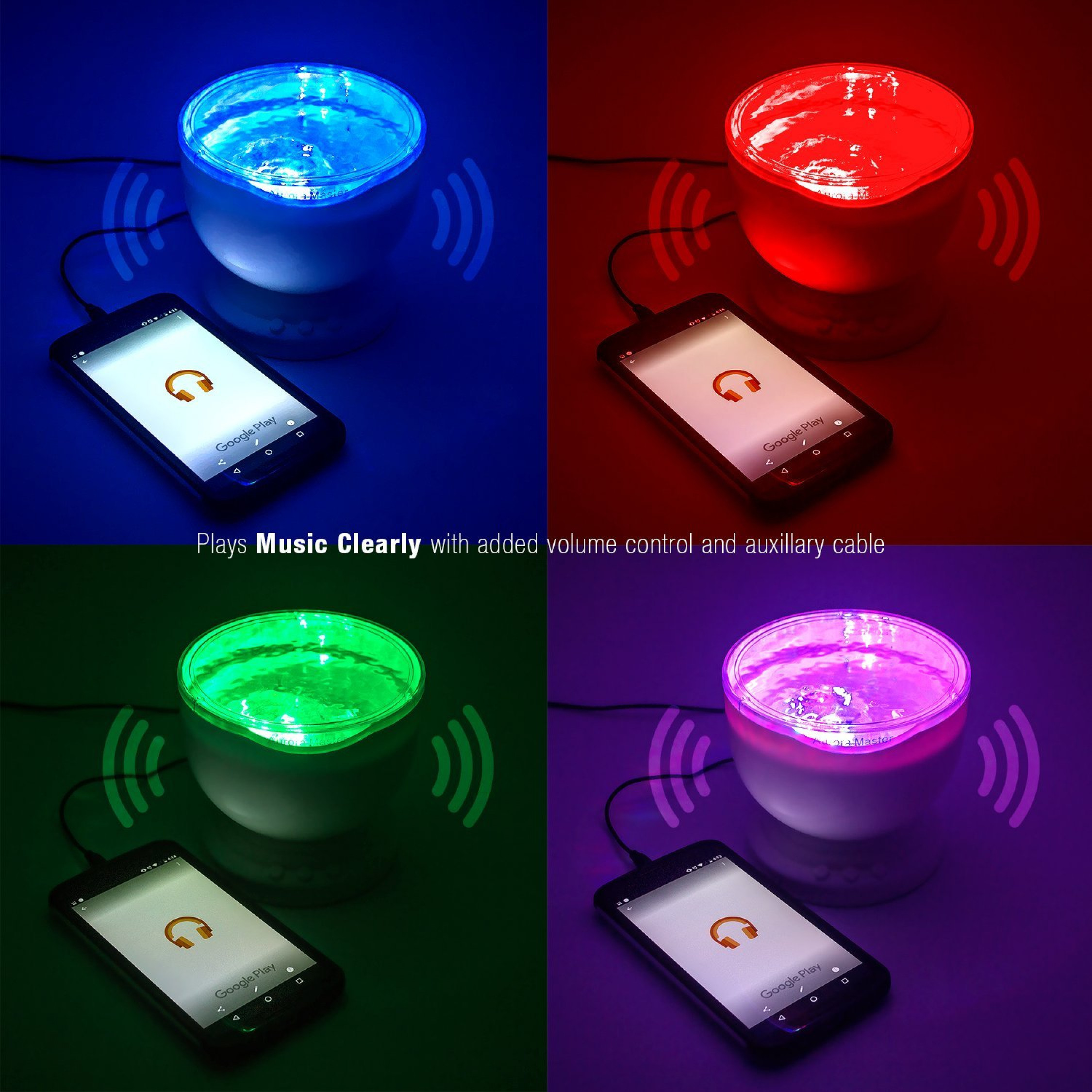 Sensory LED Light Projector Calming Relax Autism Autistic Night