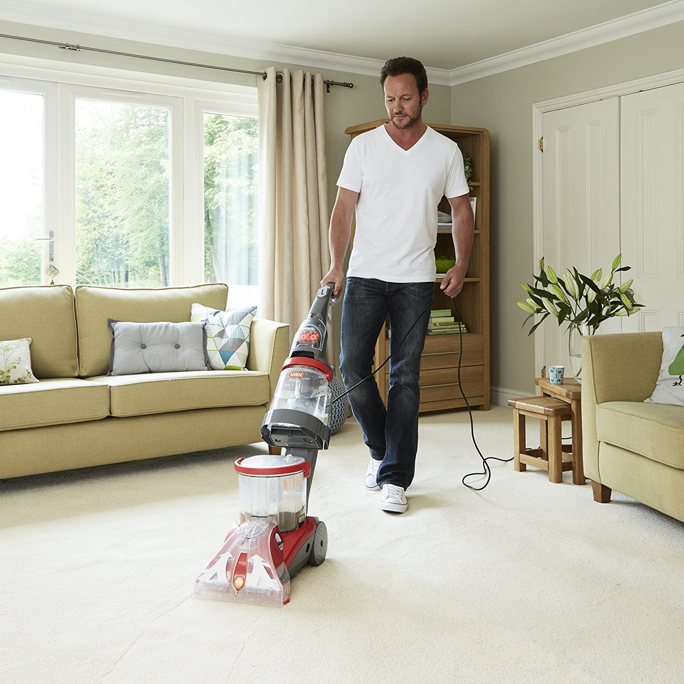 Vax Dual V Upright Carpet And Upholstery Washer Cleaner