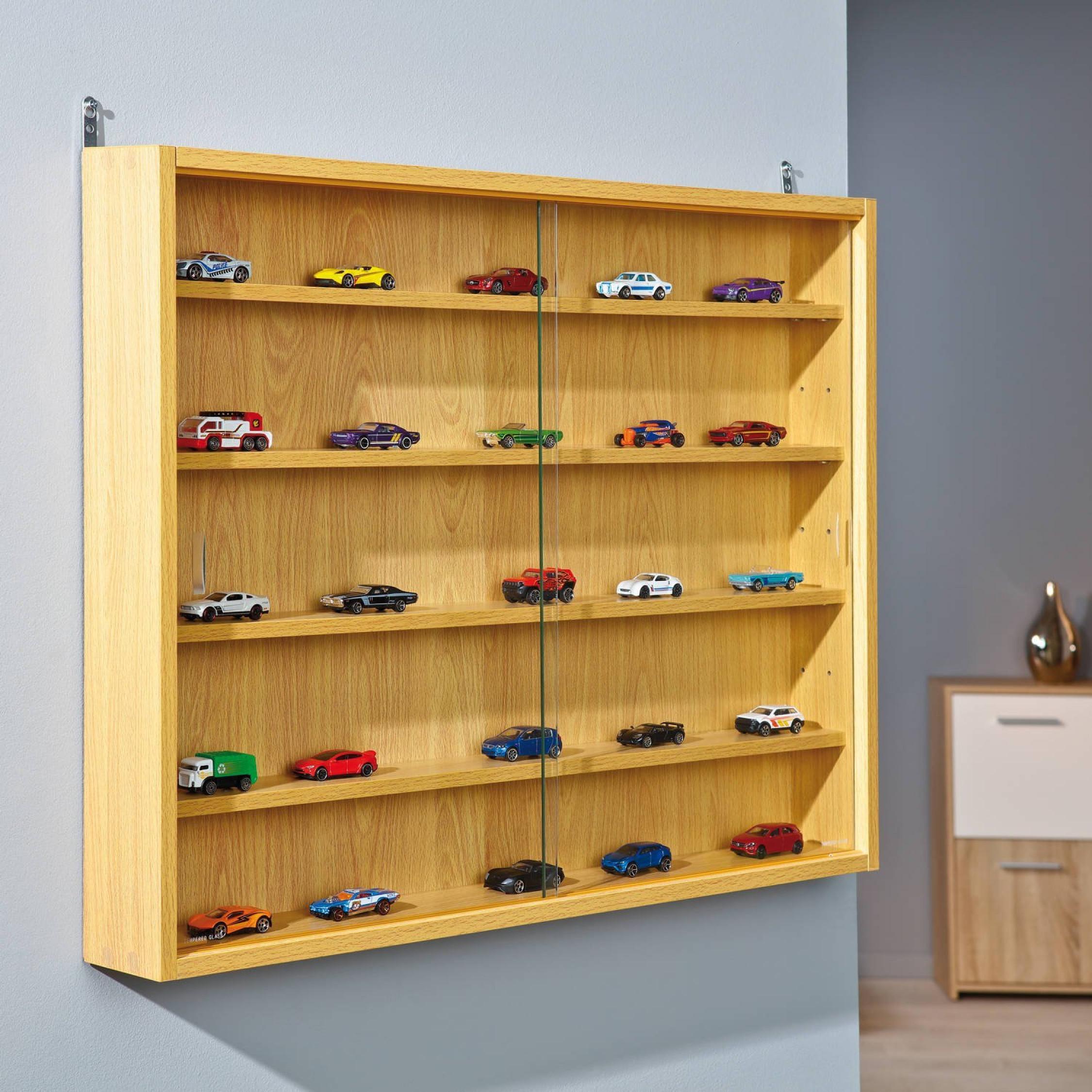 display cabinet wall mount doors unit collectibles models shelves rh picclick co uk