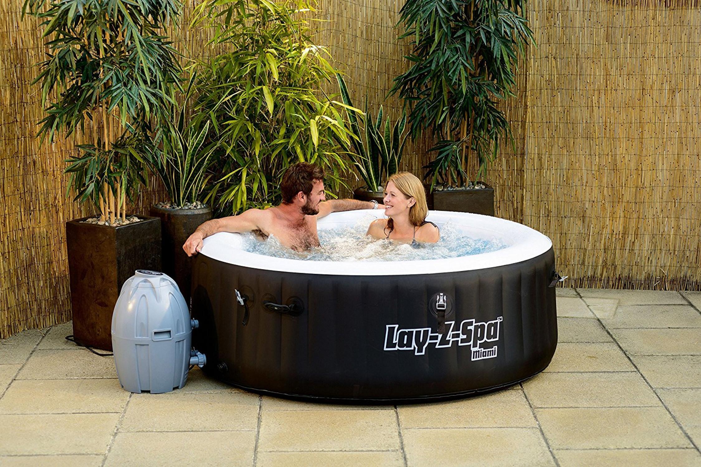 spa inflatable tub hot jacuzzi portable bath massage spa outdoor 2 4 person ebay. Black Bedroom Furniture Sets. Home Design Ideas