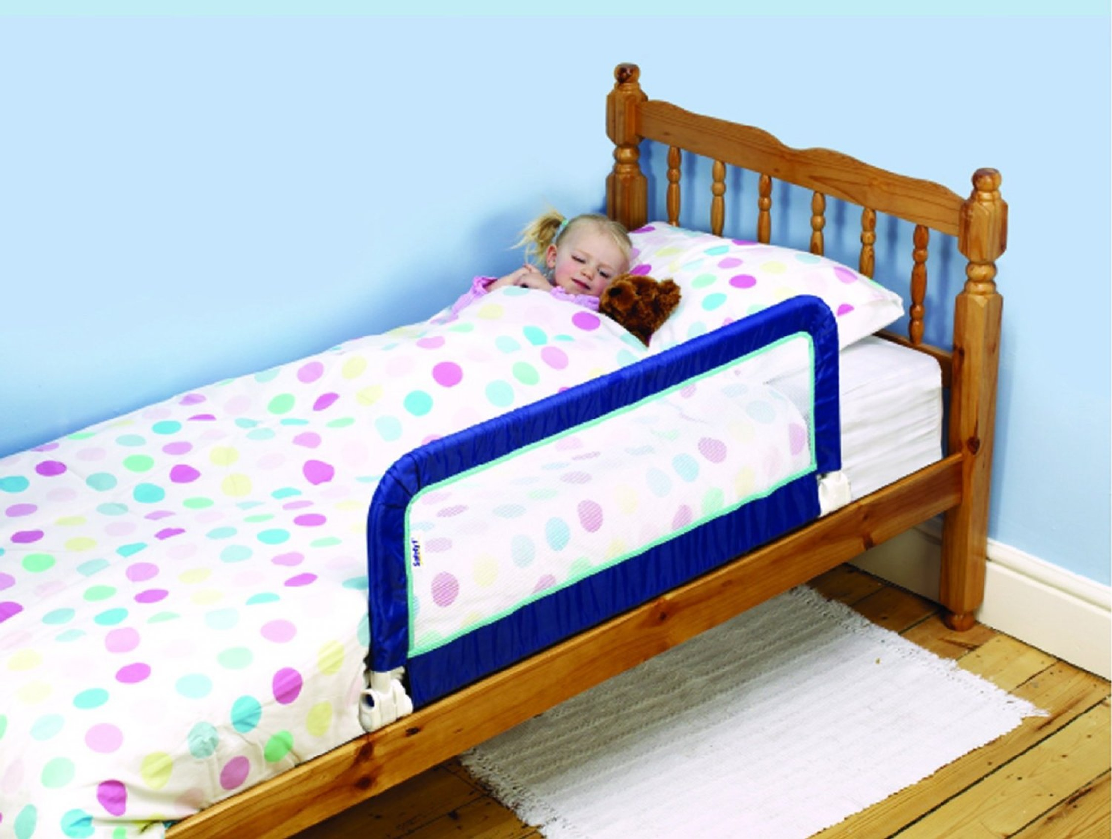 Safety 1st Toddler Bed Rail Safe from Failing Very Compact ...